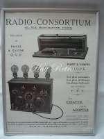 Reclamă veche la Radio-Consortium